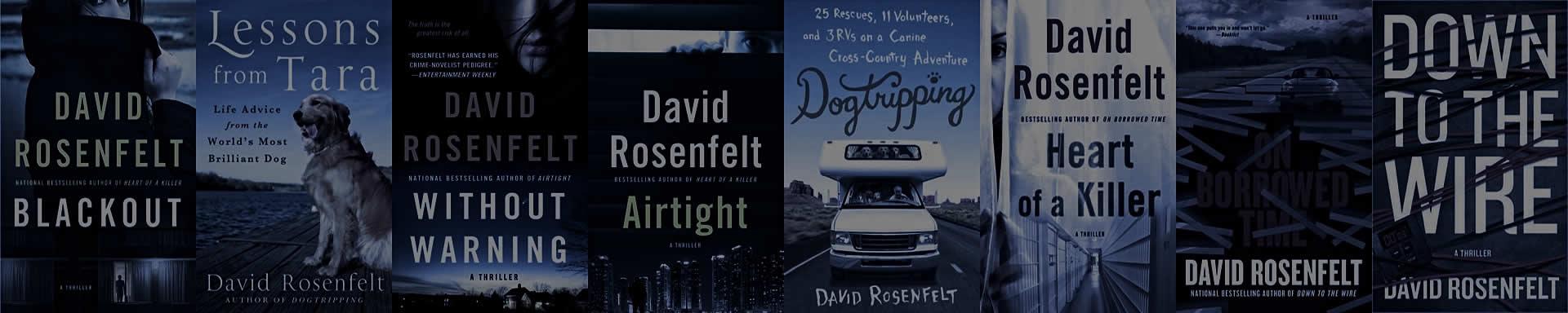 Stand Alone Books by David Rosenfelt