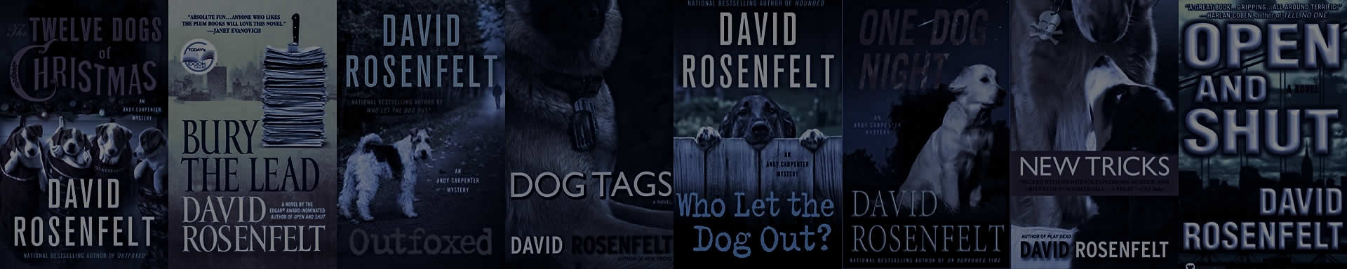Andy Carpenter Books By David Rosenfelt