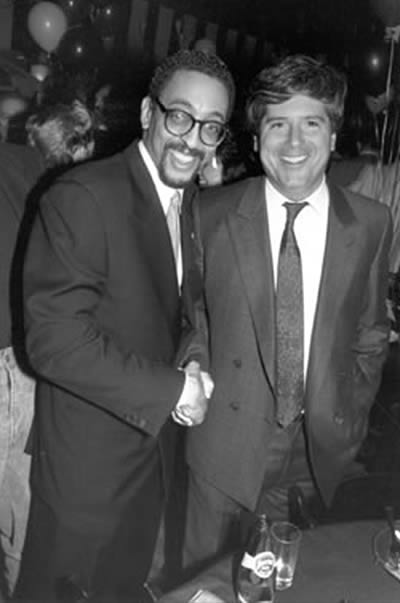 David Rosenfelt with Gregory Hines