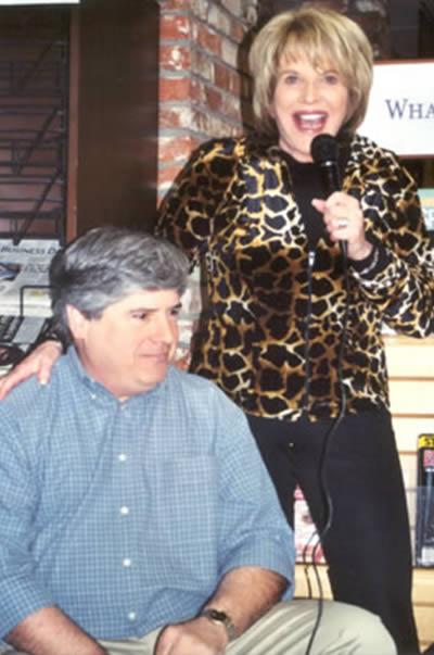 David Rosenfelt with Kelly Lange